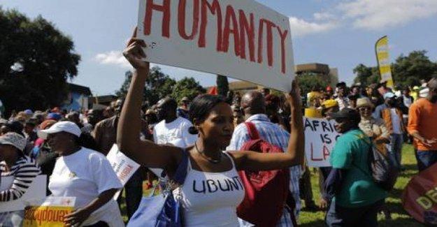 El sur de áfrica, los Años de la impunidad de los crímenes contra los extranjeros, sobre la base de los últimos ataques