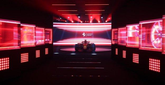 El universo de Ferrari, el fuego a la pólvora. También se exhibió el Santo Grial, el GTO