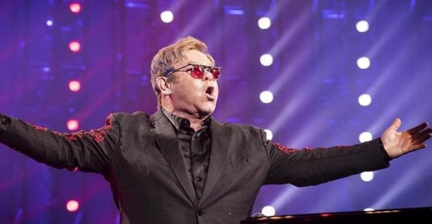 Elton John, el Royal Mail honrado en los sellos postales