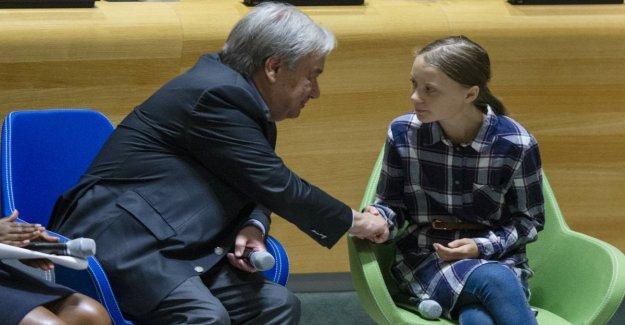 Greta Thunberg en la Onu: Nosotros, los jóvenes de los estados e imparable