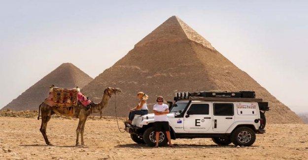 Jeep y la Expedición de la Tierra, por lo que el Wrangler está pasando en todo el mundo