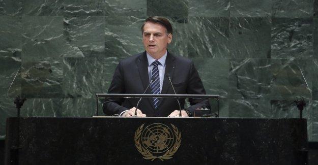 La asamblea de la Onu, Jair Bolsonaro: El Amazonas es el patrimonio de la humanidad