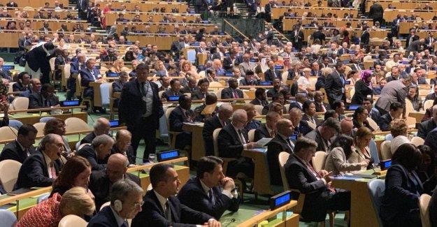 La asamblea de la Onu, el Trump: El futuro pertenece a los patriotas, no globalistas