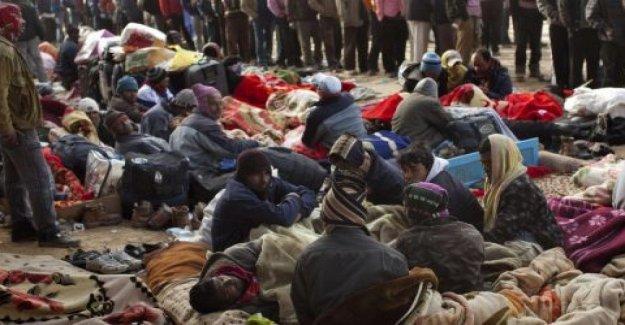 La gente en la carrera, los desembarcos en las costas del Mediterráneo, no es nada comparado con la tragedia de los refugiados planetaria