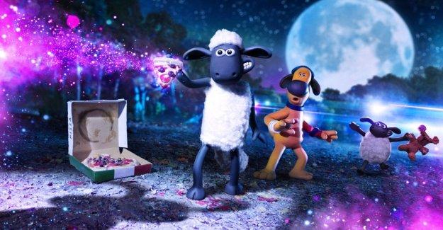 La oveja Shaun a los apretones con la ciencia-ficción, y su E. T. es la pequeña Lu-la