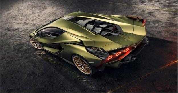 Lamborghini Sian, híbrido, pero con la V12
