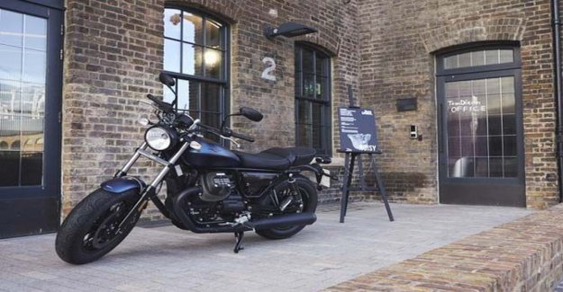 Moto Guzzi, la reina de la London Design Festival 2019