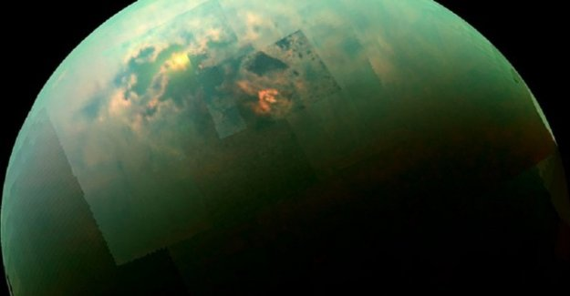 Nacen de las explosiones, los lagos de Titán, la luna más grande de Saturno