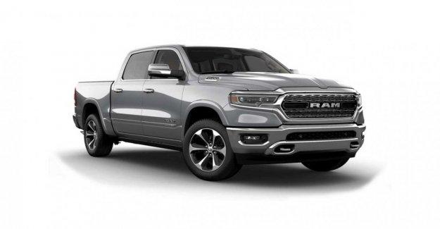 Ram 1500, la pick-up exagerado
