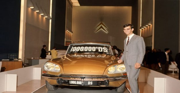 50 años desde la millonésima DS, Citroën, en parte