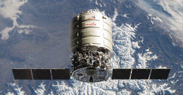 Cuenta atrás para el carguero Cygnus a la Estación Espacial