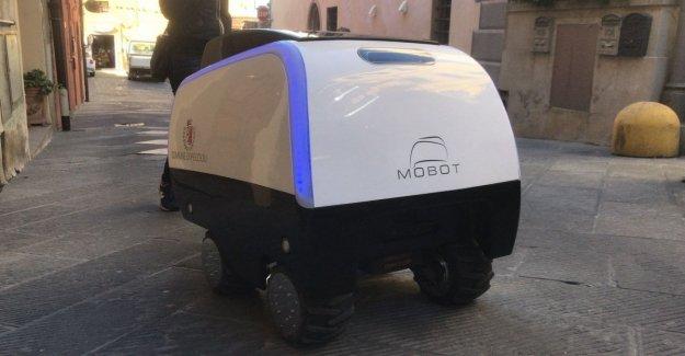 Desde el supermercado a la casa, he aquí MoBot: el carrito de la compra robot que ayuda a llevar a la tienda de comestibles