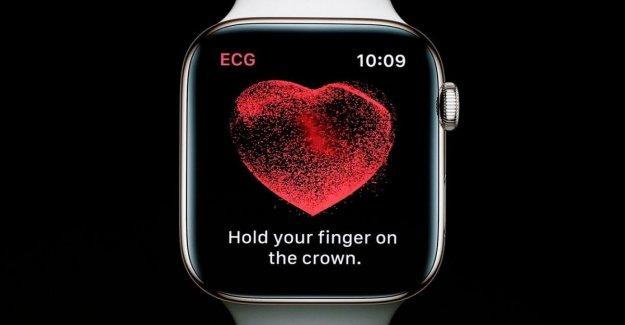El Apple Watch, el reloj inteligente, salvar la vida