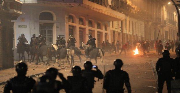 El Ecuador en la plaza en contra de la austeridad: Moreno proclama el estado de emergencia