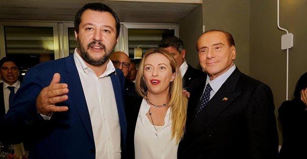 El centro-derecha, la cumbre de Berlusconi-Salvini-Melones y sandías: El gobierno no va a durar mucho