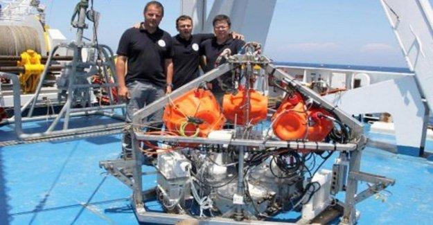 El primer módulo de aterrizaje de la italiana analizar las sustancias en el fondo del mar