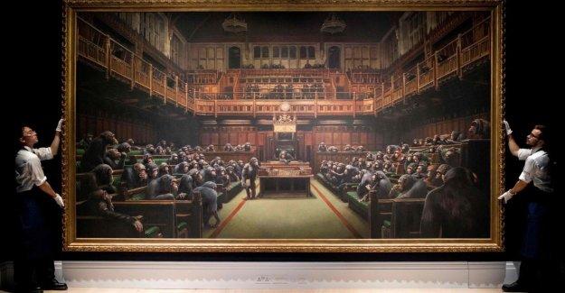 El récord en subasta para una pintura de Banksy, el 11,1 millones de euros