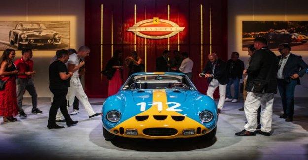 El universo de Ferrari, la pasión en la pista