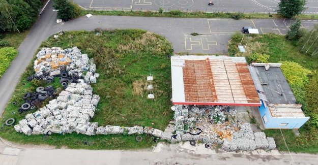 Greenpeace pistas en Polonia, 45 toneladas de residuos italianos