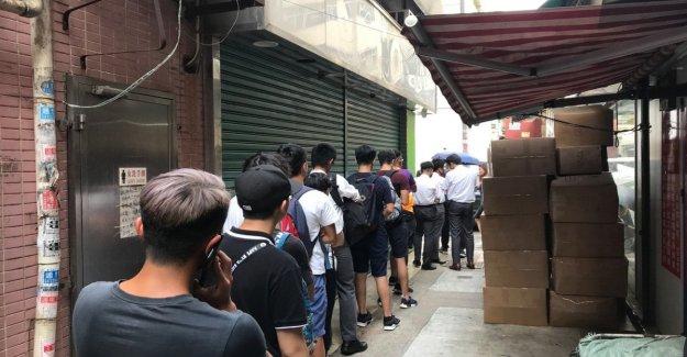 Hong Kong, la pequeña tienda de departamento de la protesta