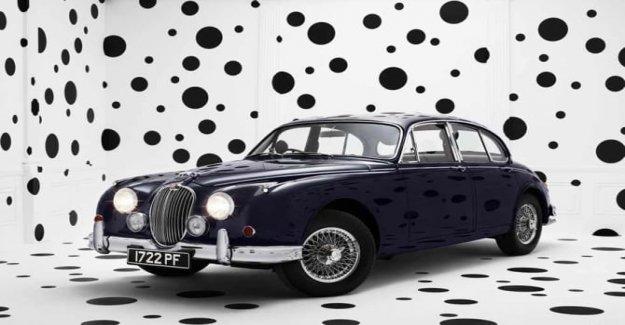 Jaguar Mk2, de sesenta años en una foto