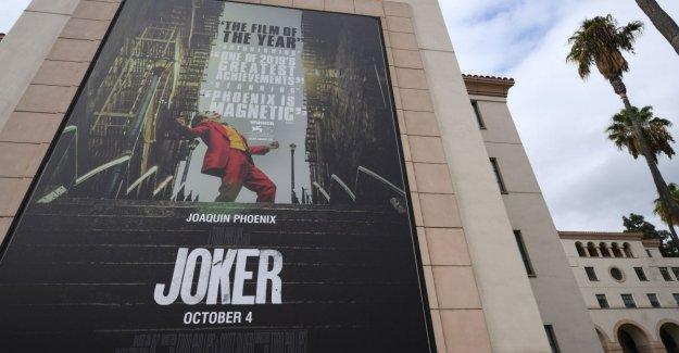'Joker' prohibido máscaras y disfraces en las proyecciones en las salas de cine de estados Unidos