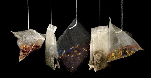 Las bolsas de té de nylon de la liberación de miles de millones de micro-plásticos
