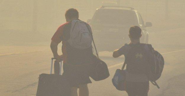 Los incendios en California, evacuado 50 personas