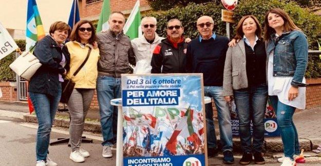 Los tres días de la enfermedad de parkinson, un millar de una glorieta en toda Italia. Zingaretti: nadie nos detenga