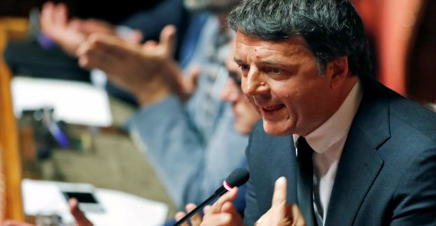 Renzi a Contar: No estamos contra el gobierno sino contra el aumento de los impuestos. Y anuncia una nueva llegada de la Dp