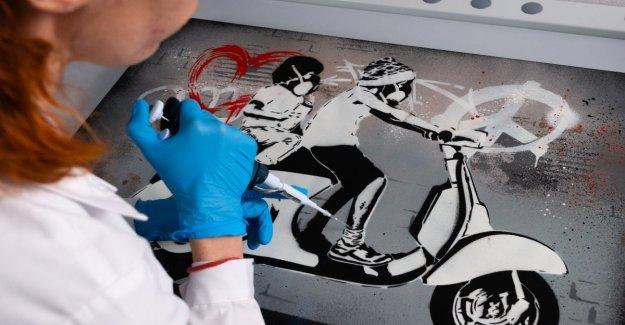 Adn sintético para proteger las obras de arte