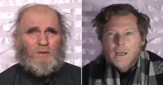 Afganistán, el intercambio de rehenes: los talibanes de la liberación de los dos profesores, secuestrado en 2016