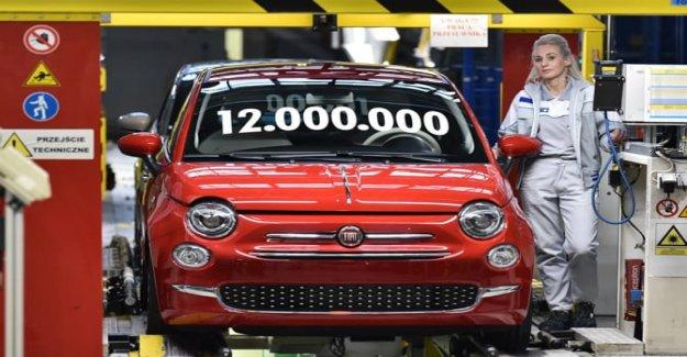 Así FCA Polonia celebra los 12 millones de coches