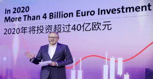 Así que Volkswagen está invirtiendo en el mercado chino
