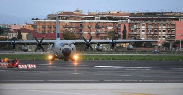 Ataque en Irak, de vuelta en Italia, los militares heridos