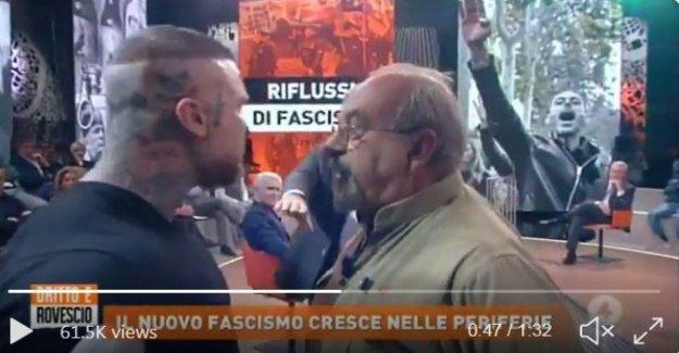 Brawl en la tv Vauro y extremistas de derecha, el Ep: Nunca en la radio, que inciten al odio