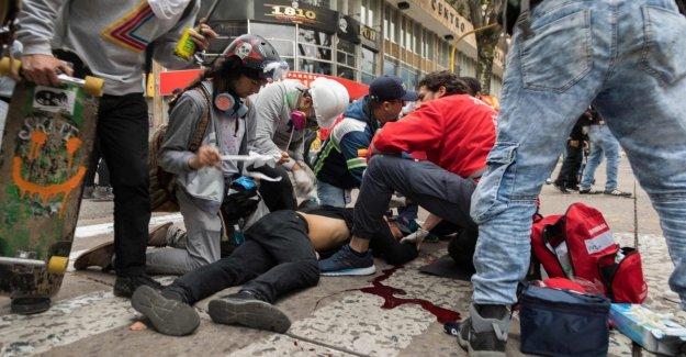 Colombia, está muerto, el estudiante Dilan Cruz, el símbolo de la protesta