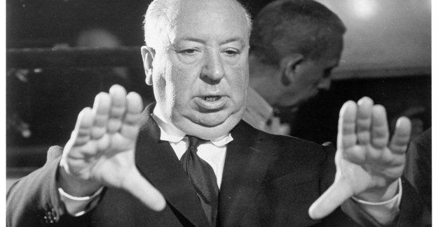 Con Alfred Hitchcock, todavía temblando, en la habitación y en la de mostrar su película de culto