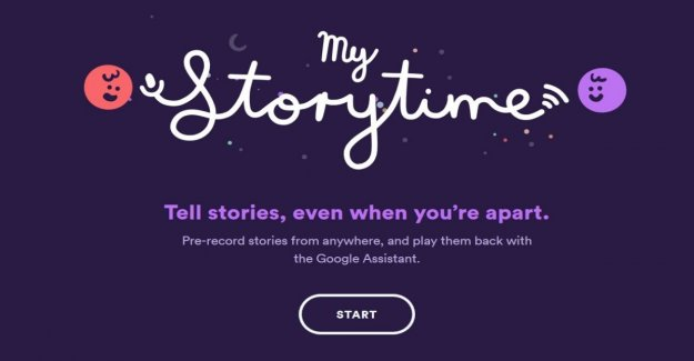 Con Google distantes a los padres contar el cuento de las buenas noches a los niños