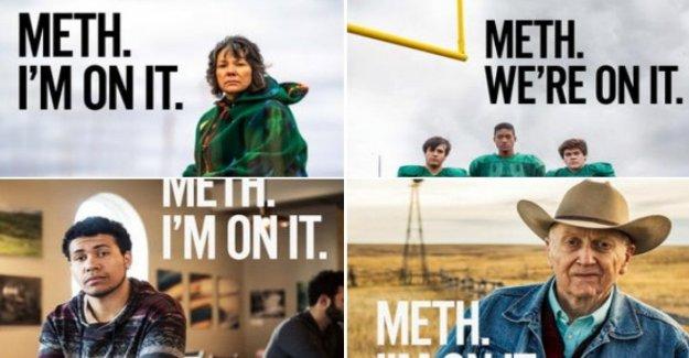 Dakota Del Sur, La Metanfetamina. Voy a estar allí: el spot contra la metanfetamina es un desastre. El gobernador dirigida por social
