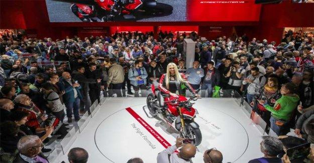 Ducati Streetfighter V4 reina de Eicma de 2019