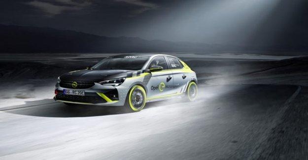 El Adac Opel y-Rally Copa presentado en el motor show de Essen
