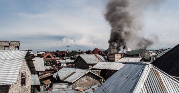 El Congo, se precipita plano de la ciudad de Goma. 23 cuerpos extraídos de los restos del naufragio