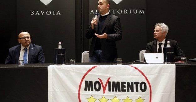 El M5S, DI Maio: En la región de Emilia, la ley nos impide apoyar a un candidato del partido