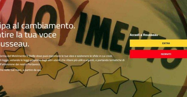 El M5s, el voto de los militantes en Rousseau entre las protestas para decidir si se debe ejecutar en la región de Emilia y Calabria