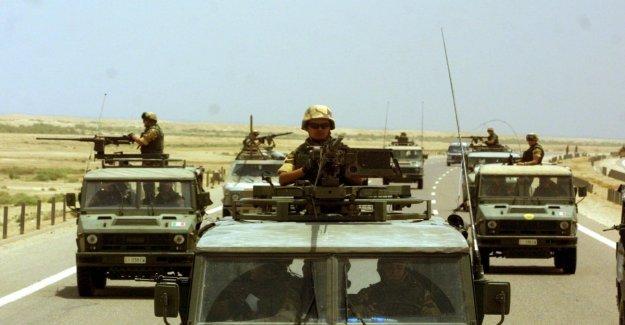 El ataque contra Irak, los cinco militares italianos transferidos en Alemania