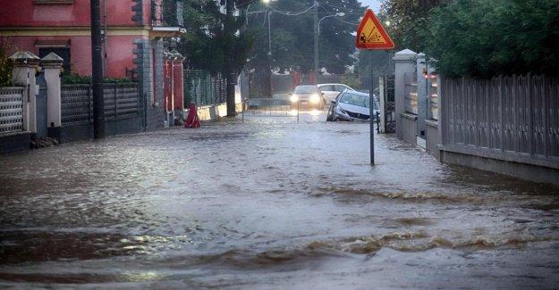 El mal tiempo, en 2018, en Italia hubo 148 eventos extremos