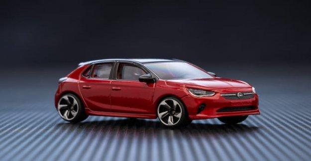 El nuevo Opel Corsa, que es más pequeño que el...