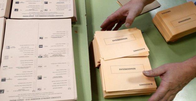 Elecciones en España, hoy en día para votar con la respiración contenida,