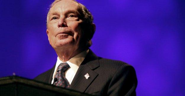 Estados unidos 2020, Bloomberg depósito (s): rush el más cercano